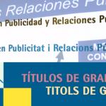 No te pierdas el vídeo del Grado en Publicidad y Relaciones Públicas de la UA