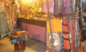 Imagen de uno de los puestos de la Feria Medieval
