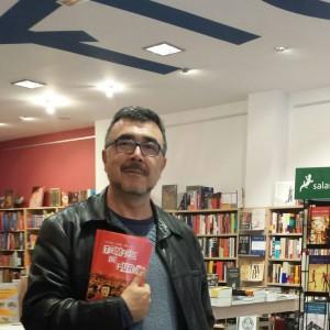 Miguel Ángel en la librería L'Ambit