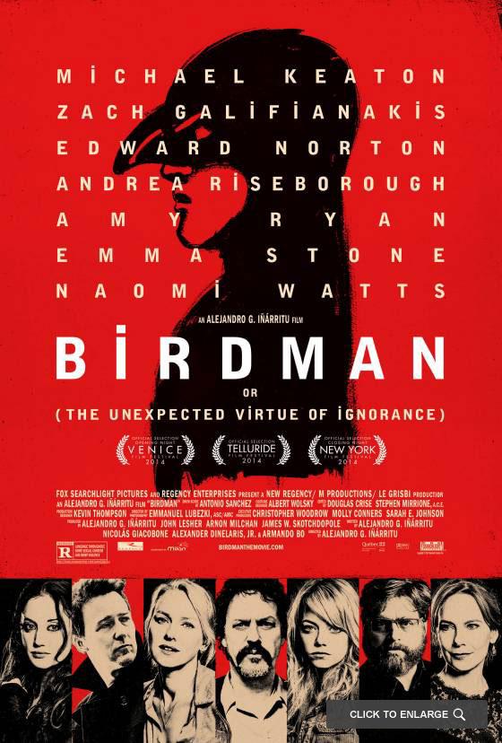 «Birdman», la voz interior del ser humano