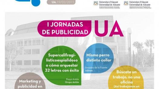 Adlicante, I Jornadas de publicidad UA