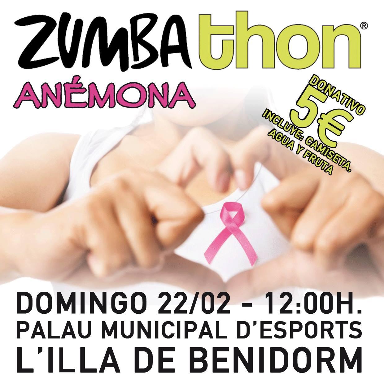 Más de 350 entradas vendidas para el Zumbathon® Anémona