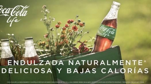 Coca-Cola Life, lo nuevo de los refrescos y en verde