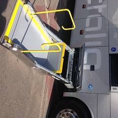 Rampes d'accés dels autobusos