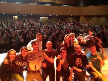 Arkano y Chuty presentan 'A la Sombra del Quijote' en la UA