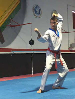"Alberto López Navarro: ""Taekwondo no es un deporte violento"""