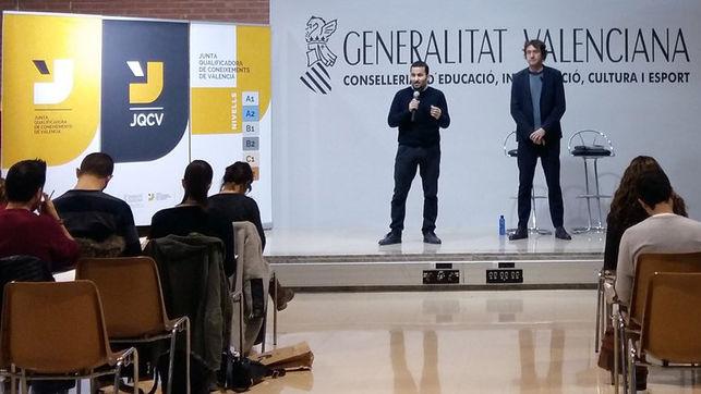 Presentació de les noves proves de la Junta Qualificadora de Coneixements en Valencià