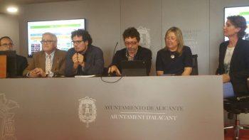 L'agenda cultural es presenta a l'Ajuntament d'Alacant