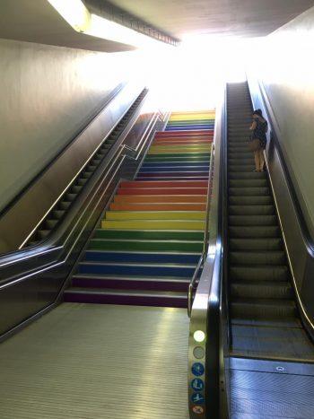 Concienciación del arcoíris