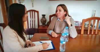 """Silvia, au pair en el extranjero: """"La familia tenían cinco hijos, es decir siempre había mucha actividad en la casa"""""""
