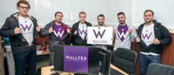 Rafael Martinez y Pau Aguilar: 'Pretendemos que Wallfer sea una herramienta que comunique a toda la comunidad universitaria.'