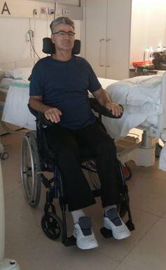 """Vicente R.M.: """"Mi vida ahora iba a ser sobre silla de ruedas"""""""