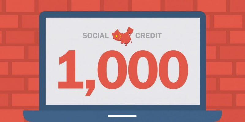 'Social Credit System', China
