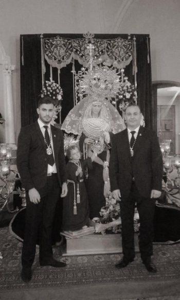 """Ángel Ruiz: """"En cada persona es donde reside la fe, y hay que echarle corazón por lo que portas ahí arriba"""""""