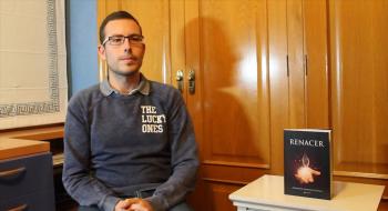 """Fernando Martínez, escritor: """"Mi imaginación superó a la realidad que vivía día a día"""""""