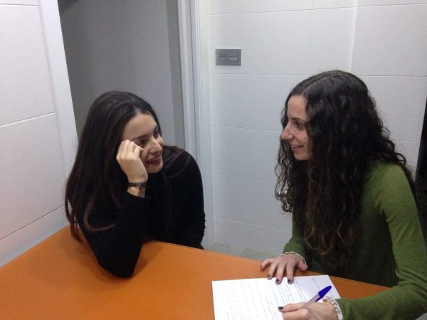 Entrevistando a Irene Arenas