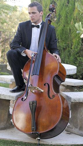 Julio Pastor, contrabajo de la orquesta nacional de España