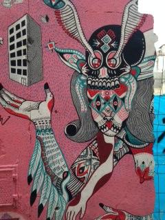 El arte se adhiere a los muros