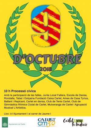 Carlet celebra el 9 d'octubre