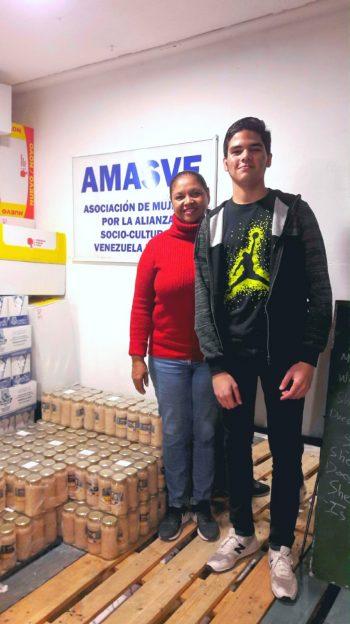 """Miriam Álvarez, presidenta de AMASVE: """"No tenemos los recursos necesarios para ayudar a todas estas personas"""""""