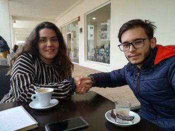 """Christian Aranda: """"Somos los jóvenes los que tenemos que cambiar esta situación"""""""