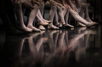 Entre bambalinas con bailarines