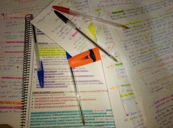 El estrés durante la época de exámenes