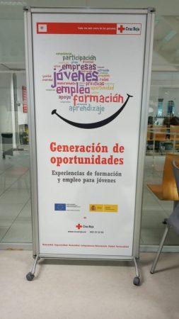 Portada del projecte de Creu Roja contra la desocupació juvenil